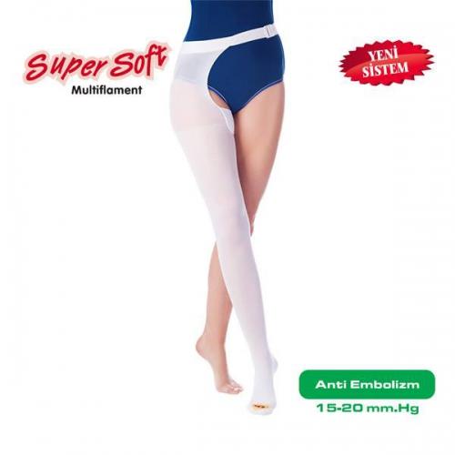 Šifra: 908 Duge čarape sa pojasom Blaga kompresija 15 - 20 mm Hg