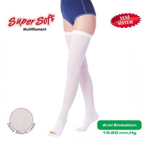 Šifra: 909 Duge čarape Blaga kompresija 15 - 20 mm Hg