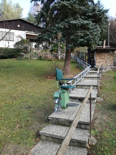 Lift stolica sa krivinama i promjenama nagiba