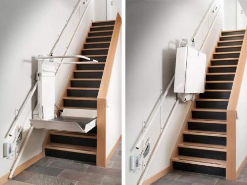 Platforma za stepenište bez krivina (ravno)